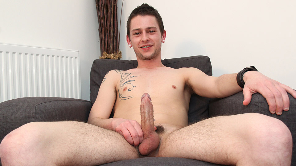 New Guy Caleb Strokes It – Caleb Kent